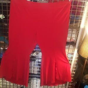 🎀3 for $40 Inc red dress pant kick pleat 24w nwot